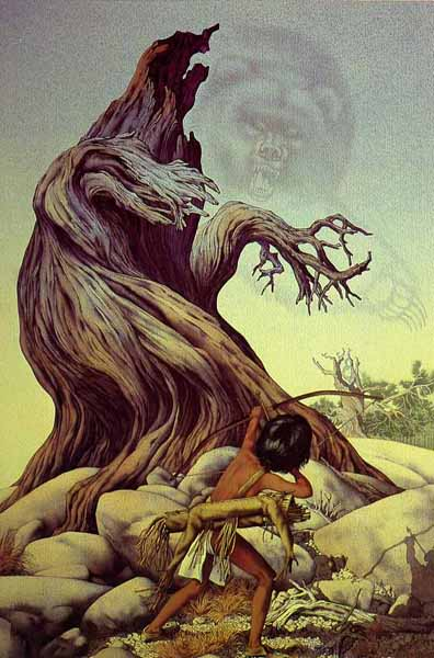 Ghost Of The Grizzly Tree- Signed By The Artist								 – Paper Lithograph – Limited Edition – 5000 S/N – 30 x 22