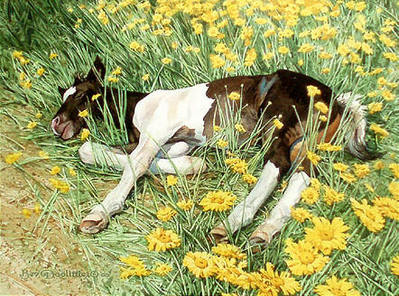 Spring Break- Signed By The Artist								 – Paper Giclee – Limited Edition – 35 A/P – 8 x 10