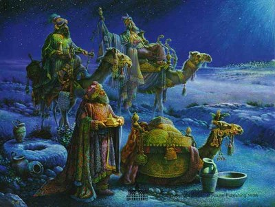 And Wise Men Came Bearing Gifts- Signed By The Artist – CanvasLithograph – Limited Edition – S/N – 22x28