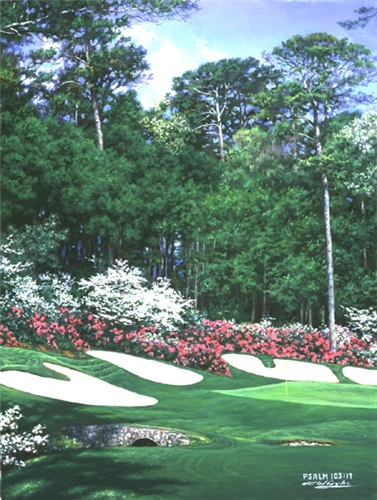 The 13th In Bloom- Signed By The Artist – CanvasLithograph – Limited Edition – 595S/N – 12x9 –