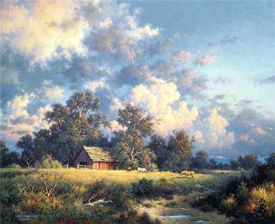 Bountiful Sky- Signed By The Artist – PaperLithograph – Limited Edition – 1000S/N – 16x20
