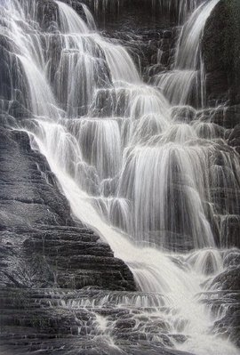 Falling Water I- Signed By The Artist – CanvasGiclee – Limited Edition – 195S/N – 36x24