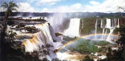 Fountains Of The Rainforest- Signed By The Artist – PaperLithograph – Limited Edition – 1000S/N – 18x36