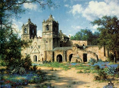 Mission Concepcion- Signed By The Artist – PaperLithograph – Limited Edition – 125S/N – 20x26