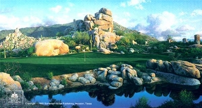 Number One At The Boulders- Signed By The Artist – PaperLithograph – Limited Edition – 1600S/N – 18x33