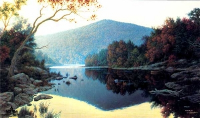 Still Reflections- Signed By The Artist – PaperLithograph – Limited Edition – 1600S/N – 16x27 1/2