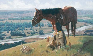 Once There Were Buffalo- Signed By The Artist – CanvasGiclee – Limited Edition – 180S/N – 22x36