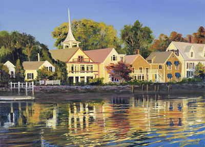 Afternoon Sunbath- Signed By The Artist – CanvasGiclee – Limited Edition – 75S/N – 10x14