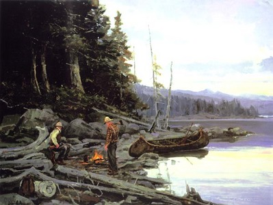 The Woodsmen- Signed By The Artist – CanvasGiclee – Limited Edition – 75S/N – 30x40