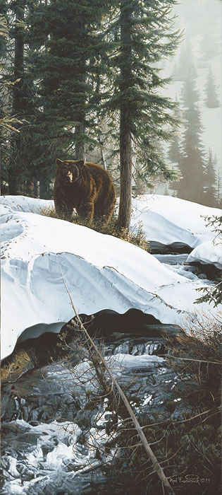 Barely Spring- Signed By The Artist – CanvasGiclee – Limited Edition – 75S/N – 26x12
