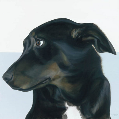 In The Ruff – Wistful- Signed By The Artist – CanvasGiclee – Limited Edition – 180S/N – 30x30