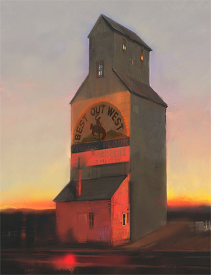 Best Out West- Signed By The Artist – CanvasGiclee  – Limited Edition  – 25S/N  –  26x20