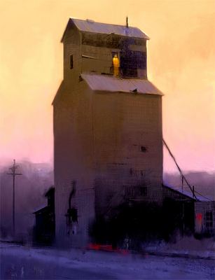 Cascade High Rise- Signed By The Artist – CanvasGiclee  – Limited Edition  – 25S/N  –  26x20