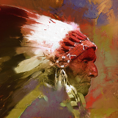 Pemmican- Signed By The Artist								 – Canvas Giclee – Limited Edition – 35 S/N – 24 x 24
