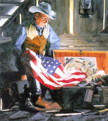 Colors Of Courage- Signed By The Artist – CanvasGiclee – Limited Edition – 95S/N – 25x22 1/2