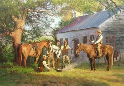 The Ranger Code- Signed By The Artist – CanvasLithograph  – Limited Edition  – 350S/N  –  20x30