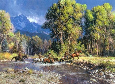Before The River Rises- Signed By The Artist – CanvasGiclee  – Limited Edition  – 95S/N  –  30x40