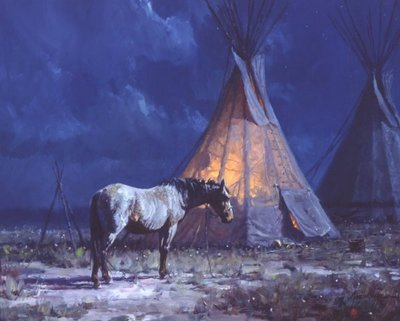 Night Glow- Signed By The Artist – CanvasGiclee – Limited Edition – 65S/N – 12x16
