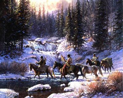 Winter Quest- Signed By The Artist								 – Canvas Giclee – Limited Edition – 95 S/N – 30 x 37 –