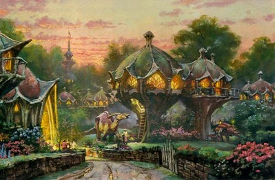 Twilight In Bonaba- Signed By The Artist – PaperLithograph – Limited Edition – 3000S/N – 10x15 1/2
