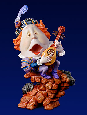 Humpty Dumpty – Figurine- Sculpture Porcelain – Limited Edition – 2500 Limited – 6″ High
