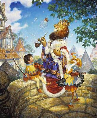 Old King Cole- Signed By The Artist – PaperLithograph – Limited Edition – 2750S/N – 17x14 1/4