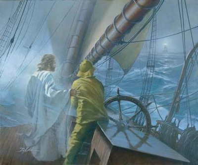 At The Helm- Signed By The Artist – CanvasLithograph – Limited Edition – 350S/N – 13 3/4x16 5/8