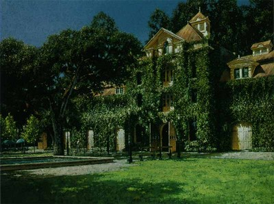 Niebaum – Coppola Winery- Signed By The Artist – CanvasLithograph  – Limited Edition  – 195S/N  –  22x28