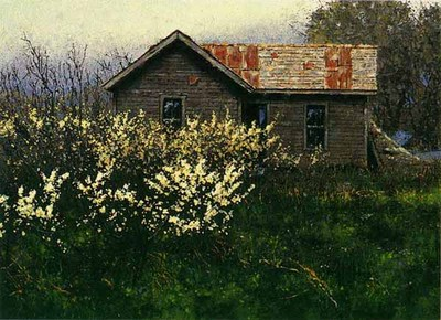 Wild Plum- Signed By The Artist – CanvasLithograph  – Limited Edition  – 395S/N  –  9x12