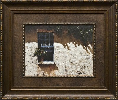 Shadows (Framed Brushstroke Edition)- Signed By The Artist – PaperGiclee  – Limited Edition  – Unsigned  –  16 3/4x19 3/4