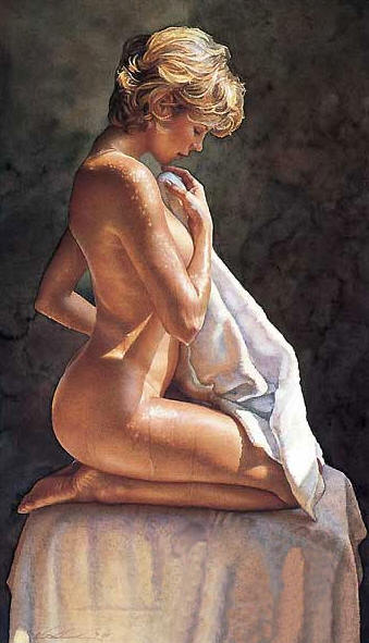 After The Bath- Signed By The Artist – PaperGiclee – Limited Edition – 300S/N – 25x14 1/2