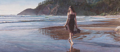 Northwest Coastline- Signed By The Artist – CanvasGiclee – Limited Edition – 50S/N – 14x32