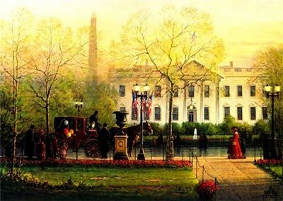 1600 Pennsylvania Avenue- Signed By The Artist								 – Paper Lithograph 								 – Limited Edition 								 – 4500 S/N 								 –  								20 x 26 1/2