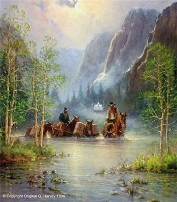 Across Quiet Waters- Signed By The Artist								 – Paper Lithograph – Limited Edition – 1500 S/N – 25 3/4 x 22