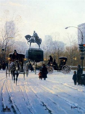 Avenue Of The Americas- Signed By The Artist – CanvasLithograph – Limited Edition – 2500S/N – 12x9