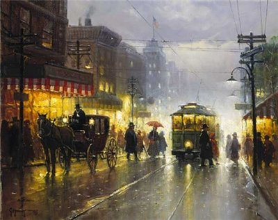 The Broadway Trolley- Signed By The Artist – PaperLithograph – Limited Edition – 2000S/N – 16x20