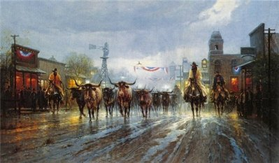 Cowboy's Payday- Signed By The Artist								 – Paper Lithograph 								 – Limited Edition 								 – 1250 S/N 								 –  								18 x 30