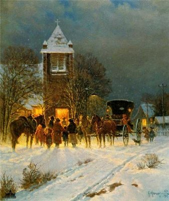 Family Christmas- Signed By The Artist – PaperLithograph – Limited Edition – 1250S/N – 21 1/2x18 –