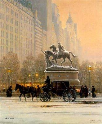 Fifth Avenue- Signed By The Artist – PaperLithograph – Limited Edition – 1250S/N – 22x18 1/2