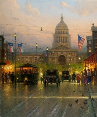 Lone Star State- Signed By The Artist – CanvasGiclee – Limited Edition – 250S/N – 36x30