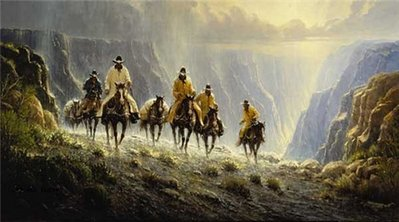 Men Of The American West- Signed By The Artist – PaperLithograph – Limited Edition – 1250S/N – 18 1/2x33 1/4