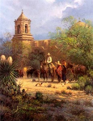Mission San Jose- Signed By The Artist								 – Paper Lithograph – Limited Edition – 1250 S/N – 26 x 20