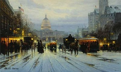 Pennsylvania Avenue- Signed By The Artist – PaperLithograph – Limited Edition – 2575S/N – 18x30