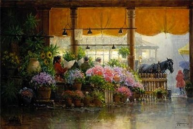 Pike Place – Public Market- Signed By The Artist – PaperLithograph – Limited Edition – 1950S/N – 20x30