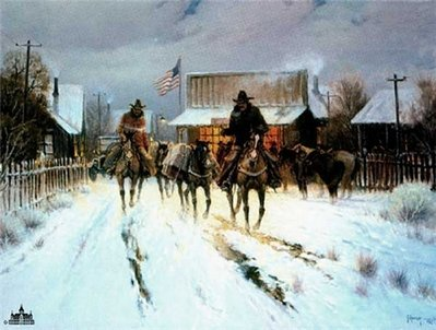 Trading At The General Store- Signed By The Artist – PaperLithograph – Limited Edition – 1250S/N – 18x24