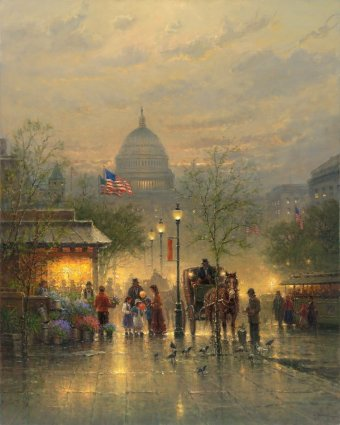 Dreams Of A Nation- Signed By The Artist – CanvasGiclee – Limited Edition – 50A/P – 30x24