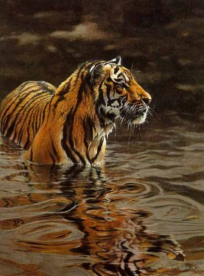 Chilling Out- Signed By The Artist – PaperLithograph – Limited Edition – 650S/N – 19 1/4x14 3/8