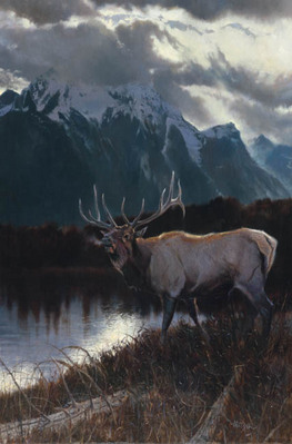 Majesty- Signed By The Artist – CanvasGiclee  – Limited Edition  – 180S/N  –  36x24