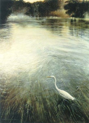 River Of Grass- Signed By The Artist – CanvasLithograph  – Limited Edition  – 495S/N  –  28x21