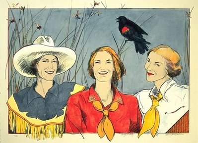 Pretty Redwing- Signed By The Artist – PaperLithograph  – Limited Edition  – A/P  –  25 1/2x35 1/2